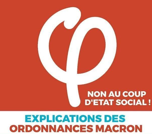 10 novembre La Rochelle : soirée de décryptage des ordonnances Macron