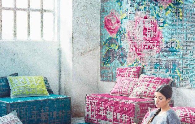 *Home Challenge* Crochet, tricot, canevas et Cie