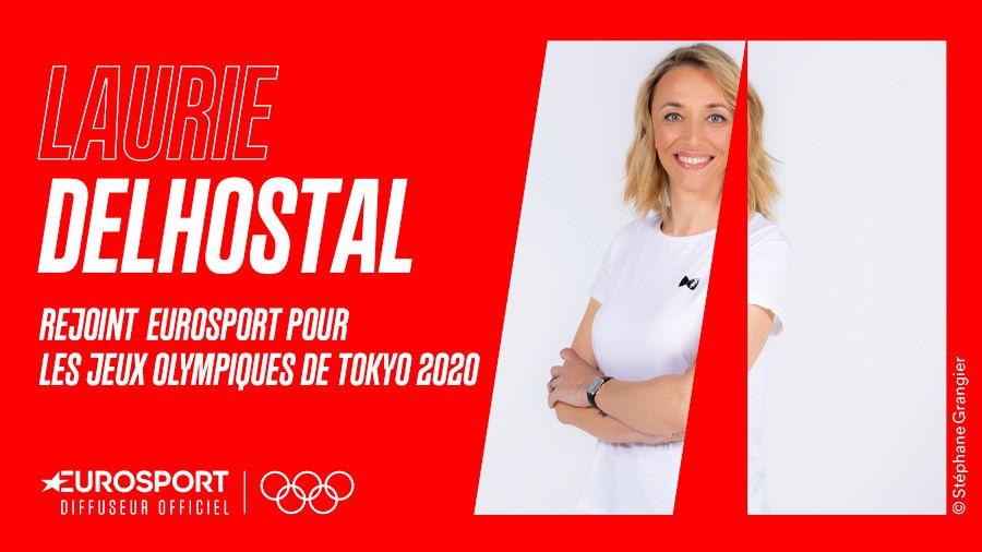 Laurie Delhostal intègre Eurosport pour les Jeux Olympiques de Tokyo 2020
