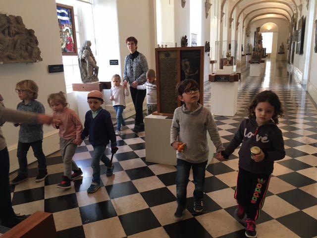 Visite du musée d'ARRAS ( Moyenne section de maternelle )