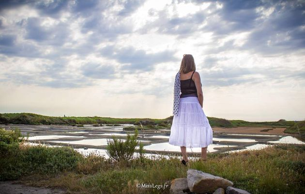Balade dans les marais salants