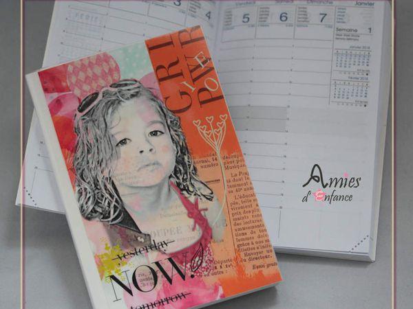 Agenda - Semainier (~10 par 15cm). Prix : 15€