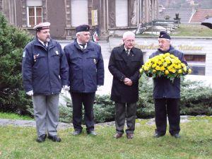 Journée nationale d'hommage aux morts pour la France en 2011 à Algrange