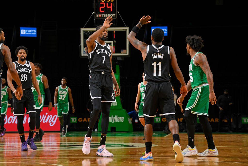 Le duo Kevin Durant-Kyrie Irving trop fort pour les Boston Celtics