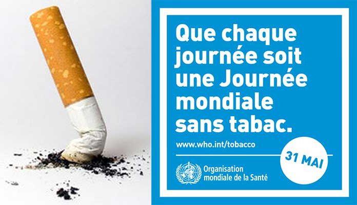 Journée Mondiale Sans Tabac le 31 mai 2021 : S'engager à arrêter