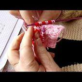 tuto gratuit : comment tricoter de plus grands motifs en jacquard tissé