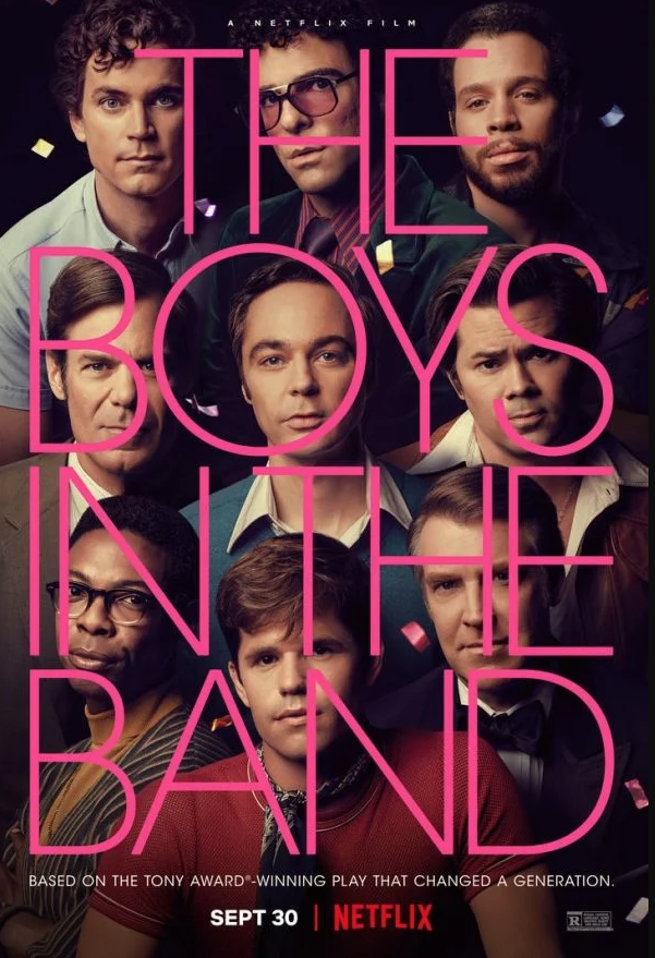 Critique Ciné : The Boys in the Band (2020, Netflix)
