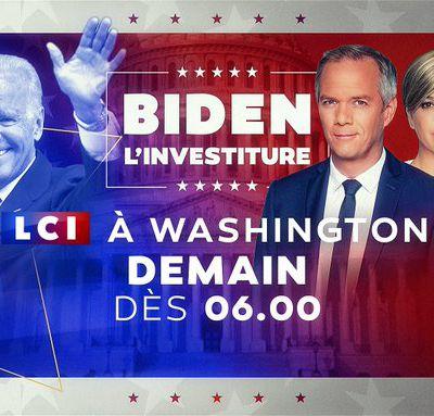 « Joe Biden - L'investiture » : Journée spéciale à suivre sur LCI ce mercredi