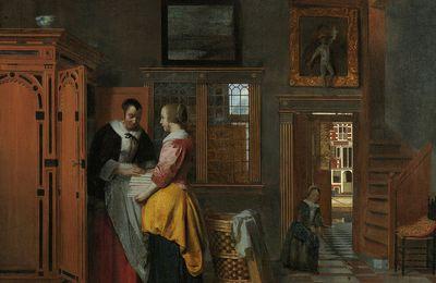 Pieter de Hooch (1629-1684) -peintre