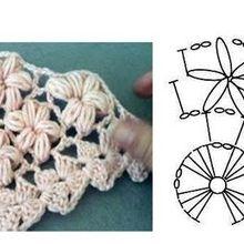 Crochet: le point de jasmin, de quoi faire de jolis accessoires...