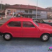 FIAT RITMO ROUGE 1978 SOLIDO 1/43 - car-collector