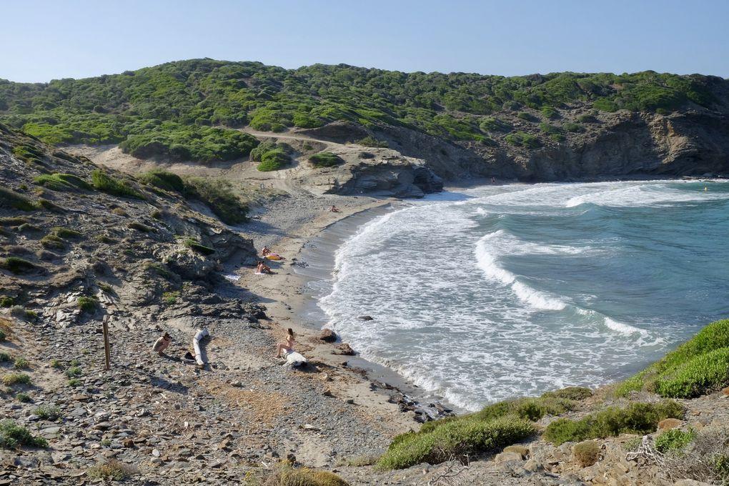 Une succession de plages magnifiques, toutes sauvages et préservées, qu'il faut mériter en marchant souvent longtemps sous les pins et les encouragements des cigales....Menu défilant à découvrir...
