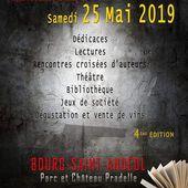 Programme. 4ème édition de la Journée du Polar. Par la Troupe Sauvage. Samedi 25 mai 2019. Bourg-Saint-Andéol (Ardèche)