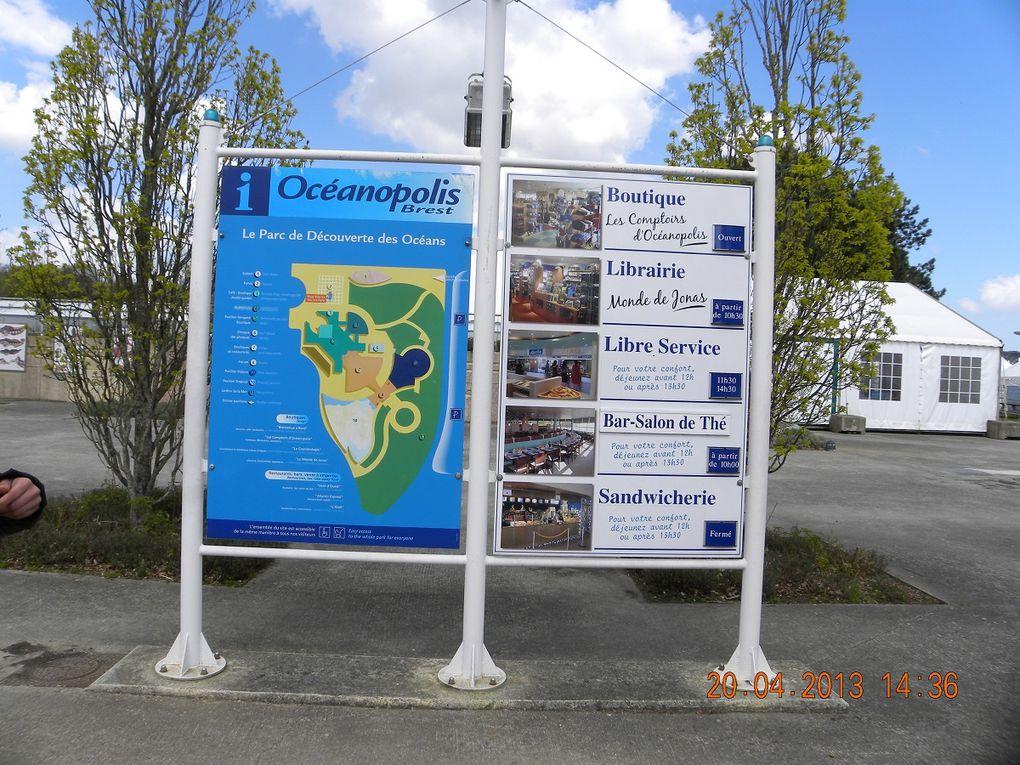 Album - 2013 04 20 Brest et la pointe Finistère