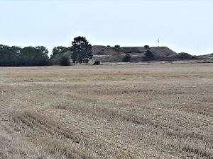 En allant vers Langres, le fort de la Pointe de Diamant.