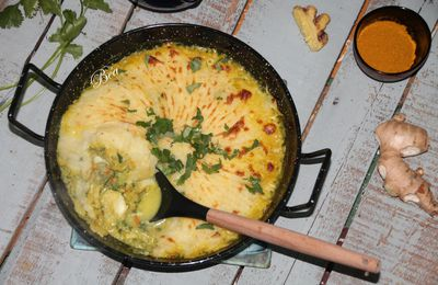 Fish pie au curry