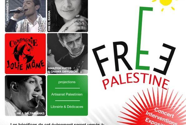 """""""Free Palestine"""" : c'est samedi à Paris !"""