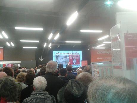 Lundi 7 novembre, à La Rochelle, carton plein pour Jean-Luc Mélenchon !