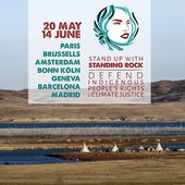 Stand up with Standing Rock - la tournée