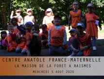 CENTRE ANATOLE FRANCE-MATERNELLE-LA FORET DE RAISMES