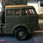 CAMION BERLIET T6 SEMI REMORQUE MILITAIRE PORTE CHAR DINKY TOYS 1/55 - car-collector.net