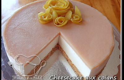 Cheesecake aux coings...