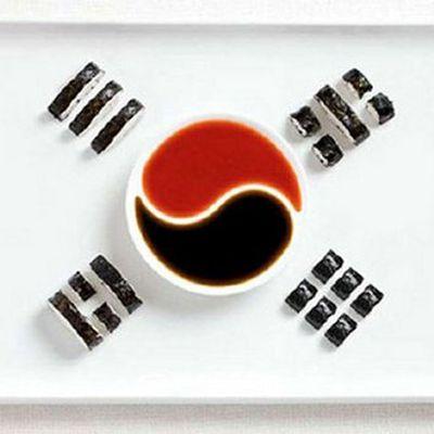 Drapeaux comestibles (4) : Corée