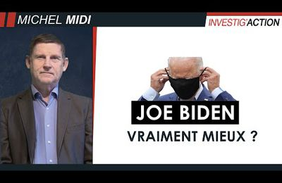 Michel Collon n'est pas un fan de Joe Biden