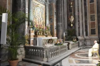 Marathon de prière lancé par le pape