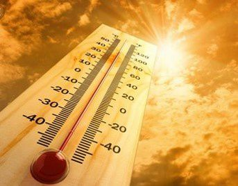 des températures de plus en plus élevées