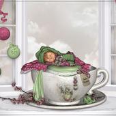 Une petite théière et pourquoi pas une petite maison - Le Blog de Mamily