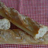 Baguettes avec M. Cuisine - auxdelicesdemanue