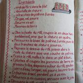Livre Recettes Brodées de Mamigoz : Rôti de Porc au Chèvre - Chez Mamigoz