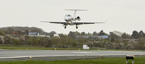 A first in Germany: Aeroplane lands using only satellite navigation