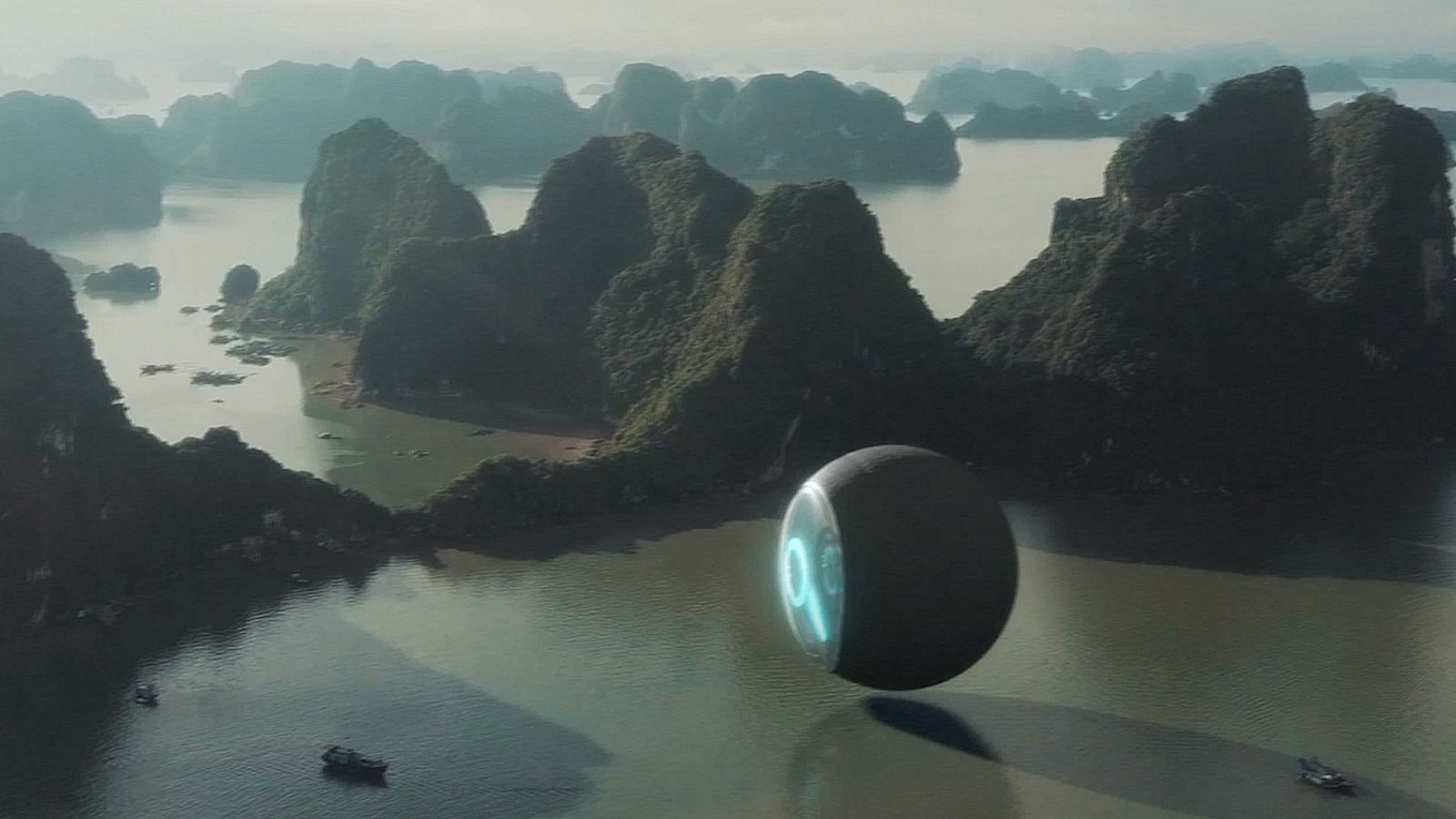 👽 Giant Sphere UFO Spotted In Thailand