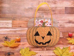 Halloween - Tutoriel - Scan N Cut - Francais - Panier - Citrouille - Enfants - Papiers - Feutrine - Encres - SDX1200 - Brother - Brother France - Booh