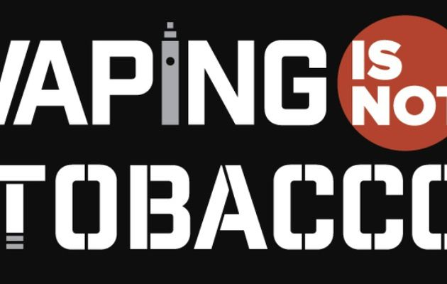 Pétition Vaping Is Not Tobacco
