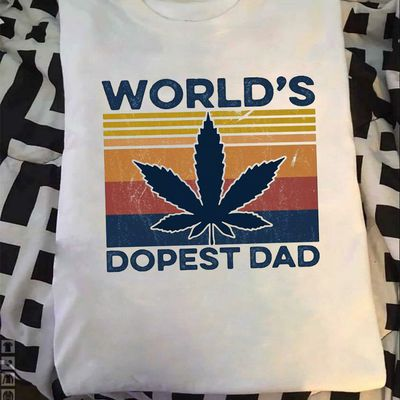 World's Dopest Dad Shirt -father's day 2020-Tshirt