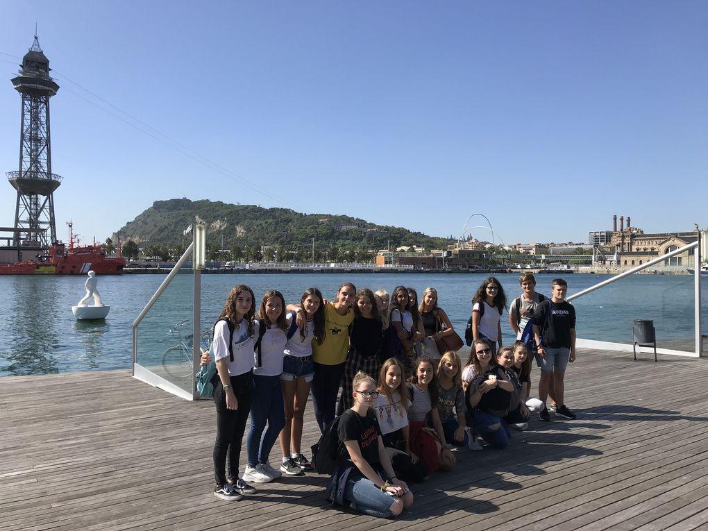 Découverte de Barcelone autrement pour le lycée