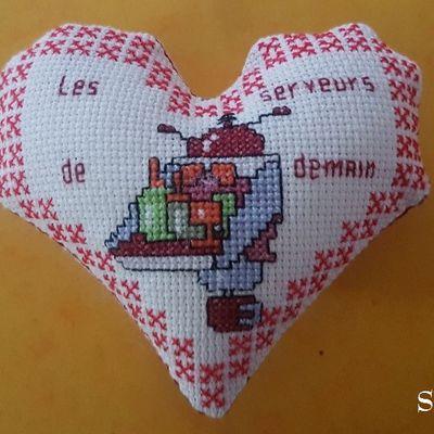 Cœur Valentin  Robots serveursII, face B