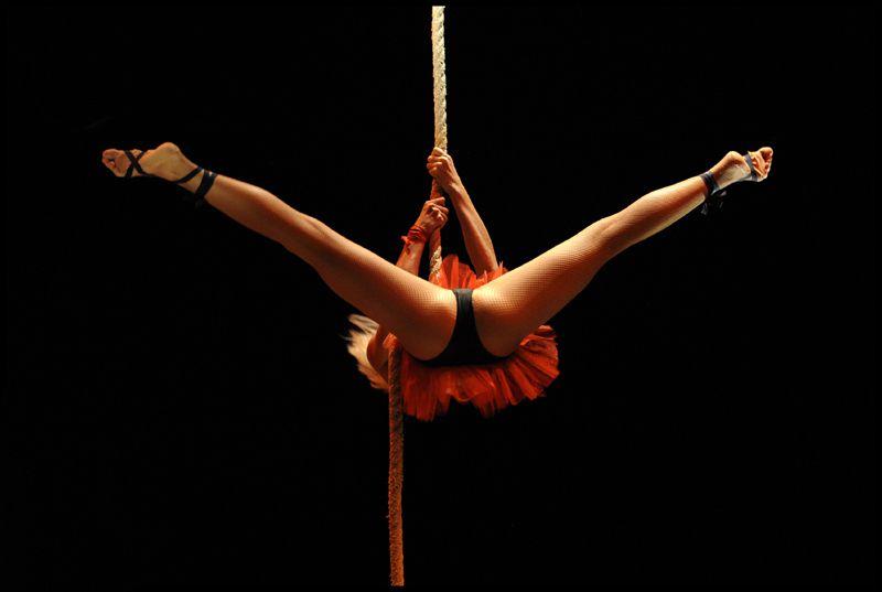 Un cirque Russe où l'art de prendre une photo au bon moment !