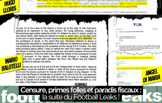 Censure, primes folles et paradis fiscaux : la suite du Football Leaks ! #FootballLeaks