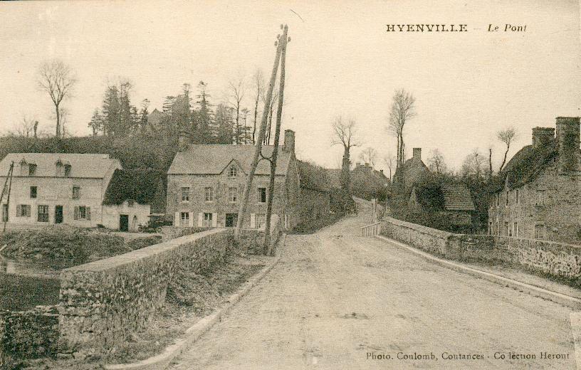 Le pont de HYENVILLE