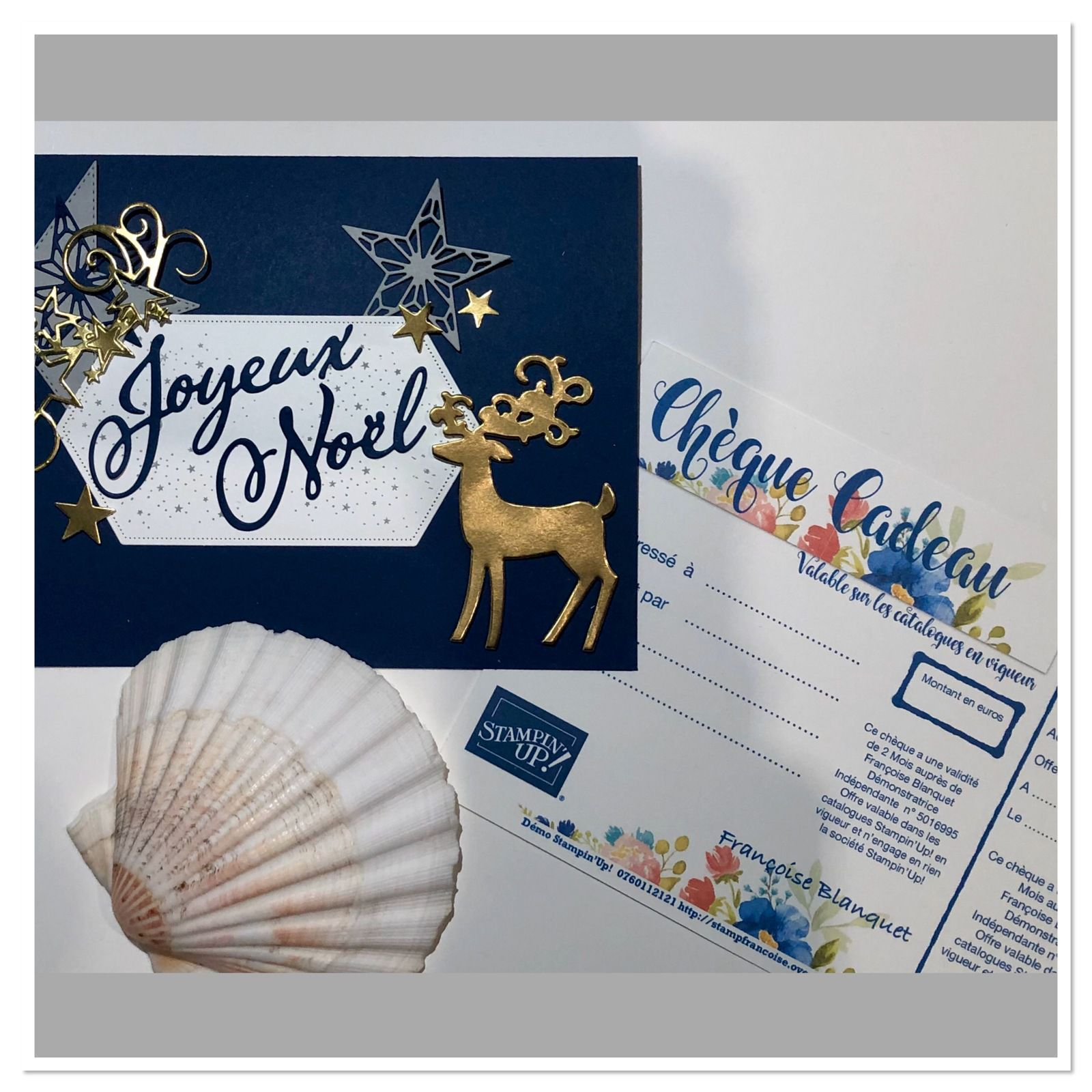 Stampin'Up!  Demandez moi , je vous prépare une jolie enveloppe,  pour y glisser votre chèque cadeau.