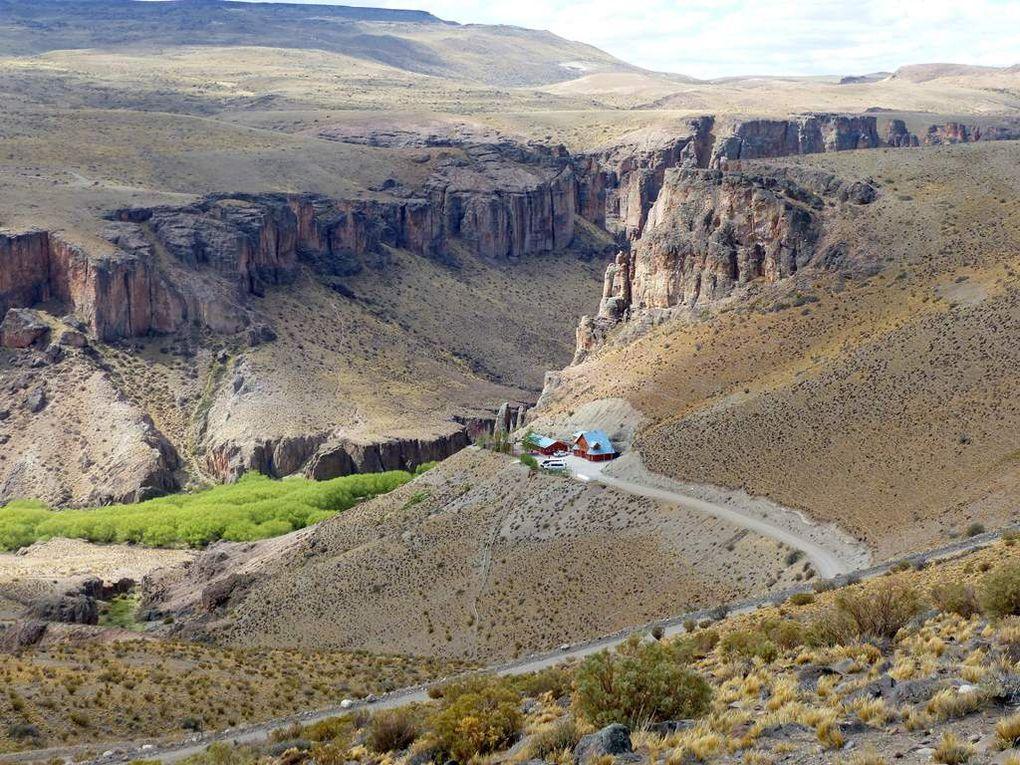 Les Monts Zeballos et la Cueva de los manos