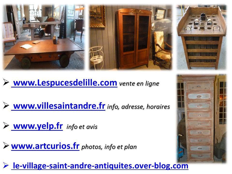 Fiches de stage : Notre petite Clara a effectué son stage au sein du village d'antiquités brocante de Saint André Lez Lille