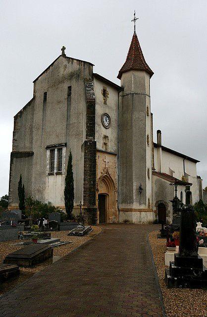 Diaporama église fortifiée de Saint Andre de Seignanx