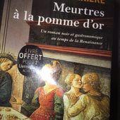 Meurtres à la pomme d'or de Michèle Barrière (Livre de poche)