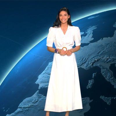 Tatiana Silva Météo TF1 le 01.03.2021