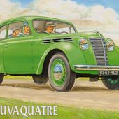 Juvaquatre - Simca huit - 202 - Concurrentes en leur temps... - Le Mirebalais Indépendant